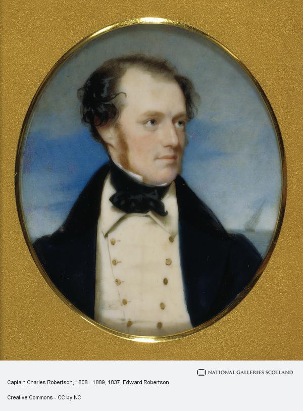 Edward Robertson, Captain Charles Robertson, 1808 - 1889