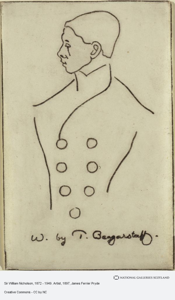 James Ferrier Pryde, Sir William Nicholson, 1872 - 1949. Artist