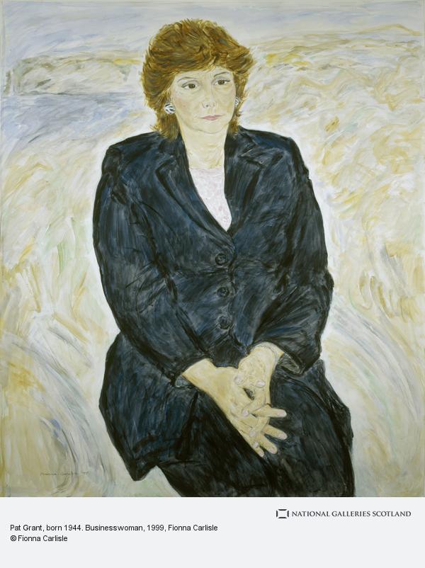 Fionna Carlisle, Pat Grant, born 1944. Businesswoman