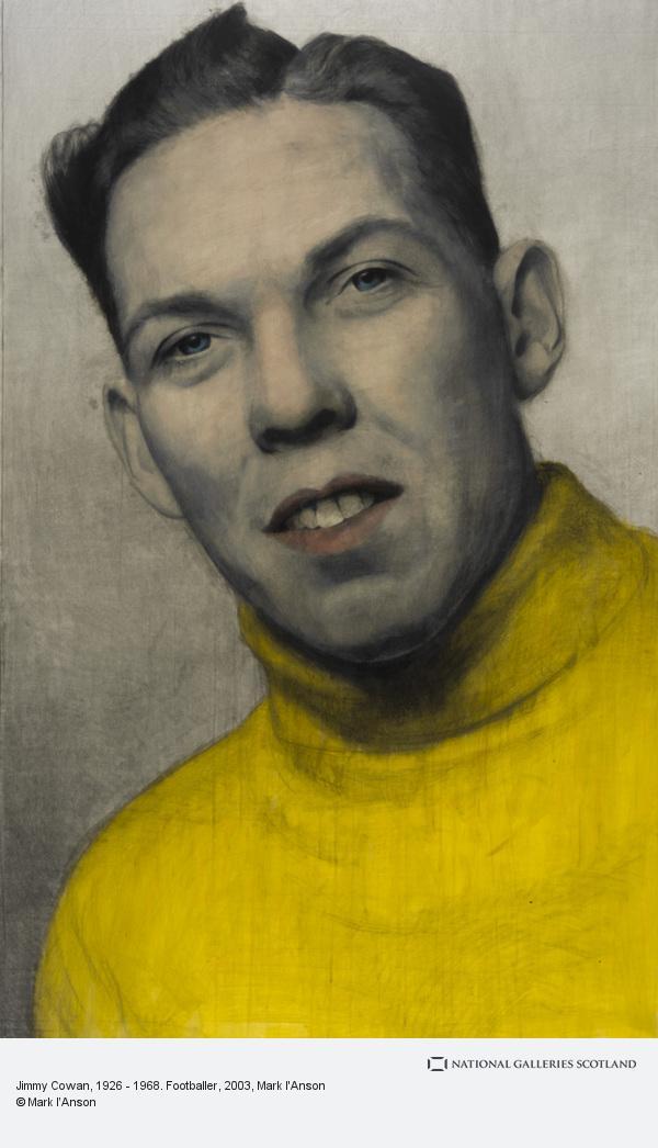 Mark I'Anson, Jimmy Cowan, 1926 - 1968. Footballer