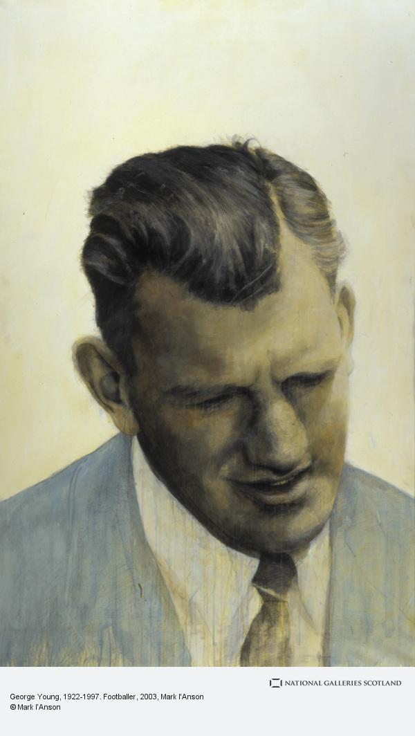 Mark I'Anson, George Young, 1922-1997. Footballer (2003)