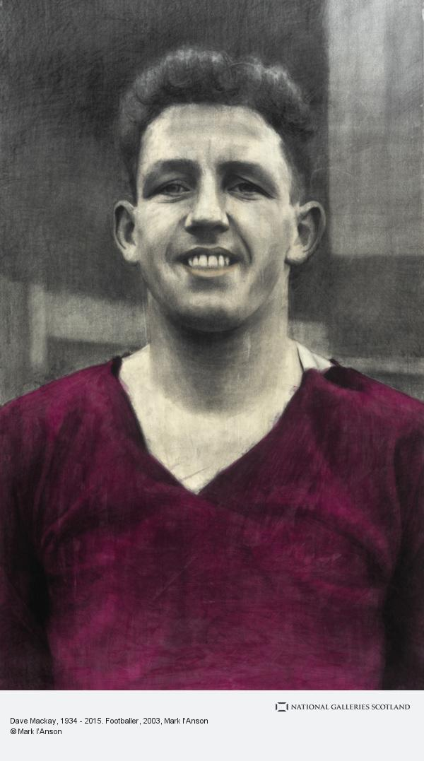 Mark I'Anson, Dave Mackay, 1934 - 2015. Footballer