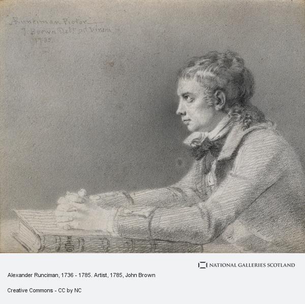 John Brown, Alexander Runciman, 1736 - 1785. Artist