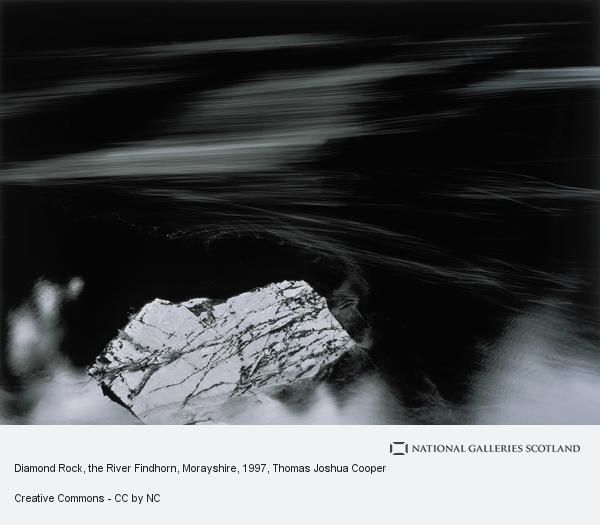 Thomas Joshua Cooper, Diamond Rock, the River Findhorn, Morayshire (1997)