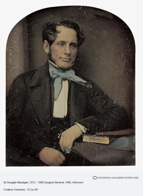 Unknown, Sir Douglas Maclagan, 1812 - 1900 Surgeon General (About 1840)