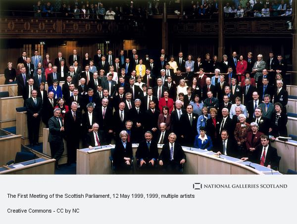 Robin Gillanders, The First Meeting of the Scottish Parliament, 12 May 1999
