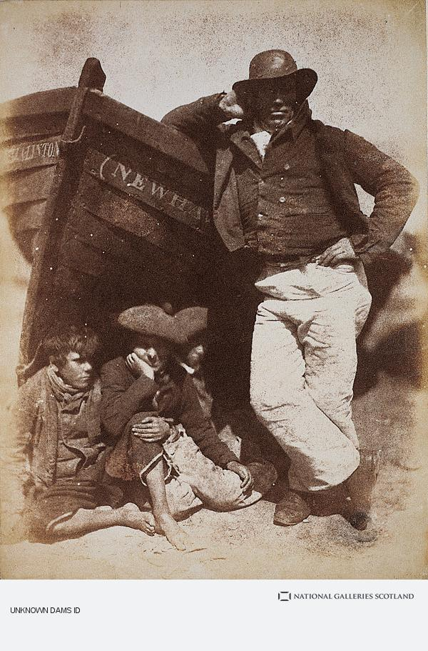 Robert Adamson, Sandy (or James) Linton, his boat and bairns (1843 - 1846)
