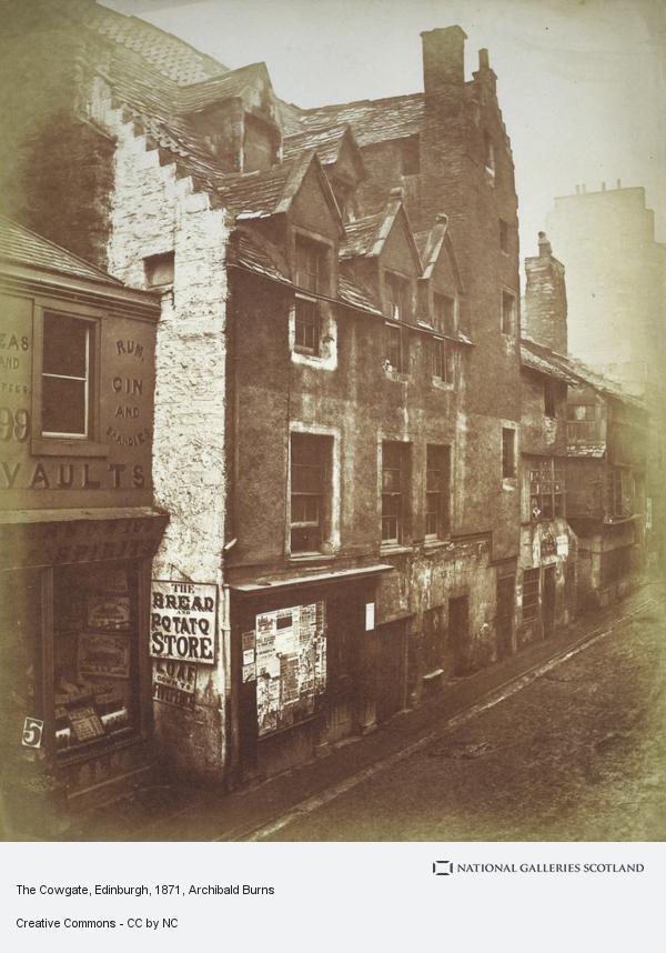 Archibald Burns, The Cowgate, Edinburgh (1871)