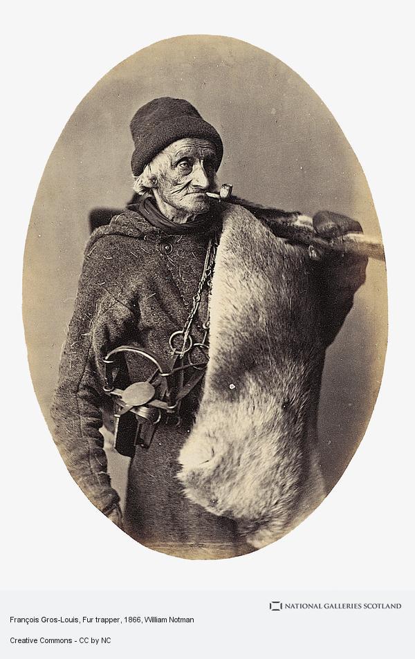 William Notman, François Gros-Louis, Fur trapper