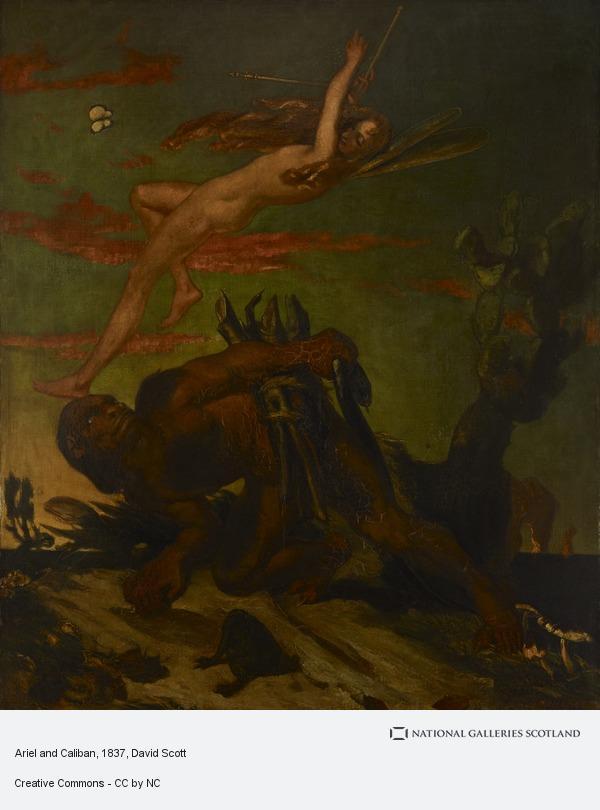 David Scott, Ariel and Caliban
