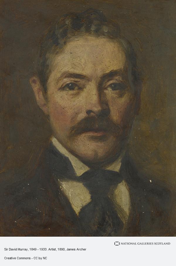James Archer, Sir David Murray, 1849 - 1933. Artist