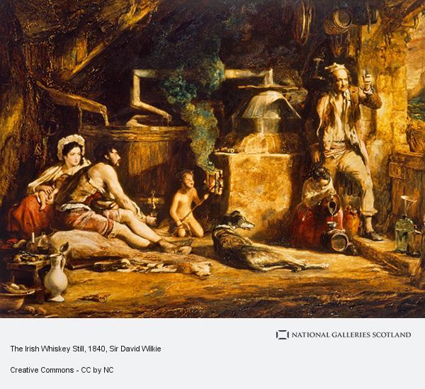 Sir David Wilkie, The Irish Whiskey Still