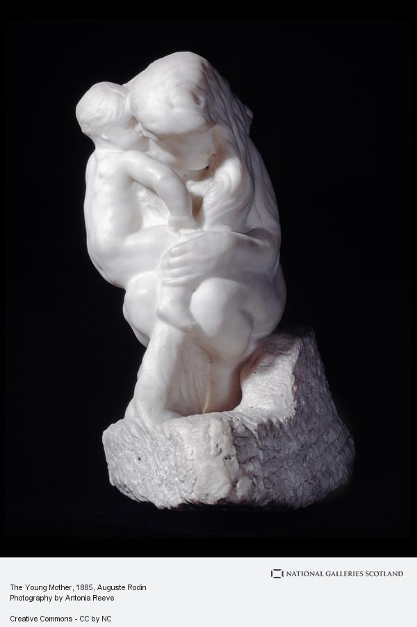 Auguste Rodin, The Young Mother (Sculpted 1885)