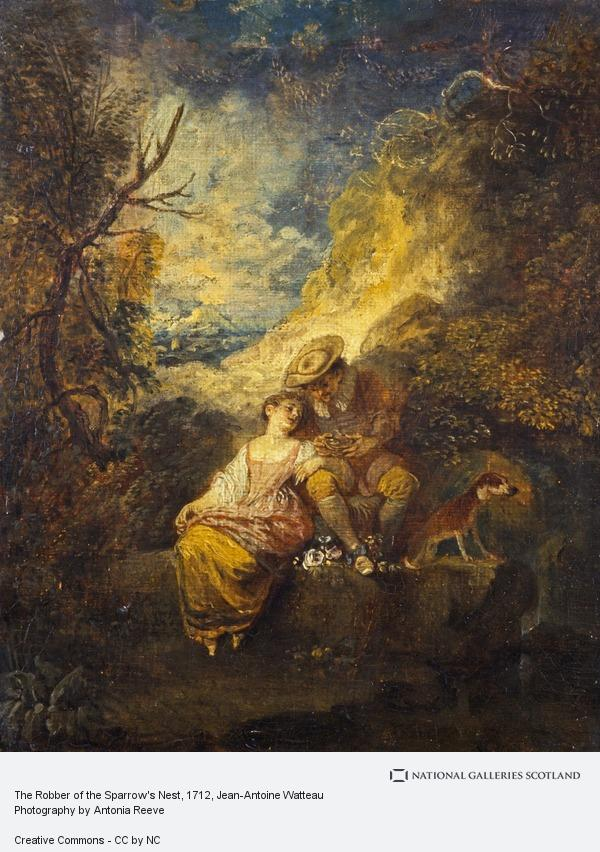 Jean-Antoine Watteau, The Robber of the Sparrow's Nest