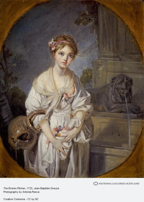 Jean-Baptiste Greuze, The Broken Pitcher