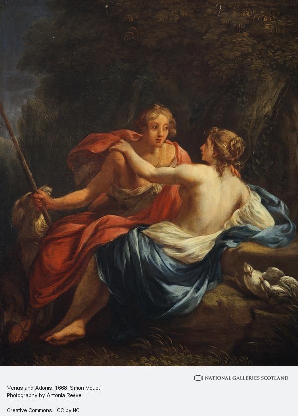 Simon Vouet, Venus and Adonis