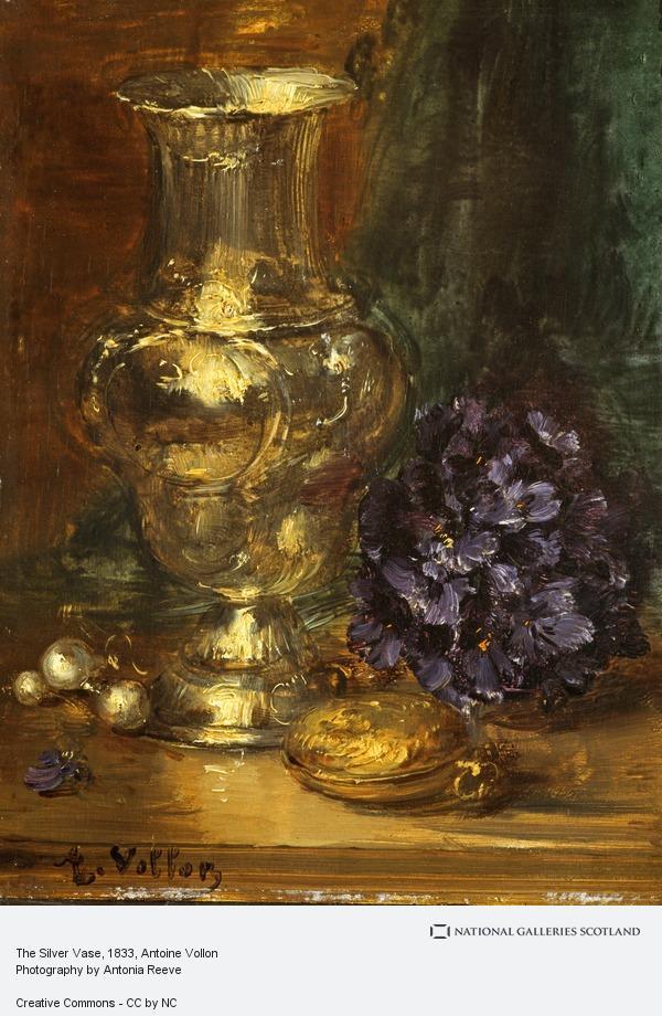 Antoine Vollon, The Silver Vase