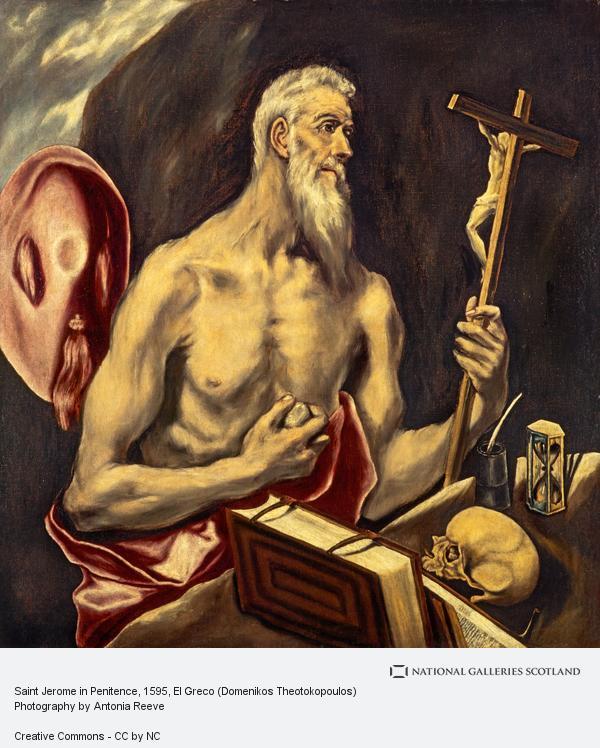 El Greco (Domenikos Theotokopoulos), Saint Jerome in Penitence