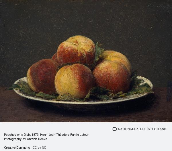 Henri-Jean-Théodore Fantin-Latour, Peaches on a Dish