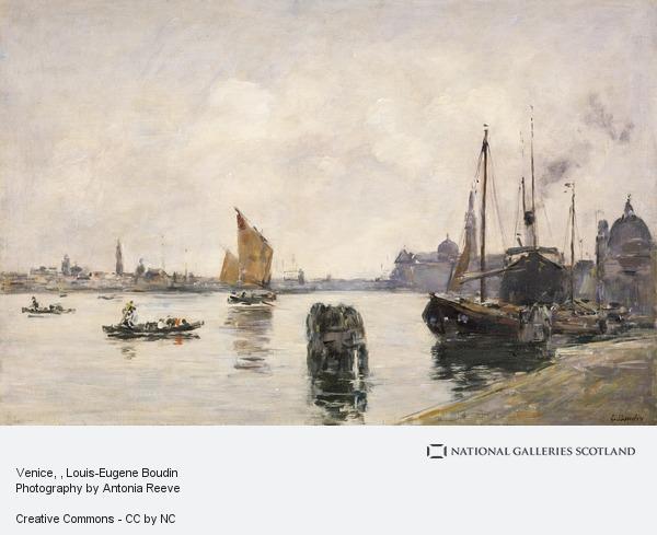 Eugene Louis Boudin, Venice