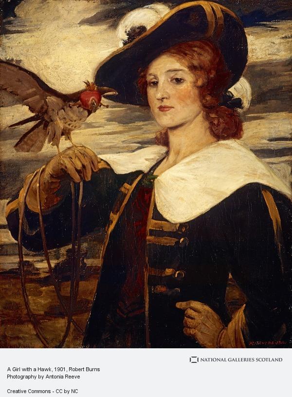 Robert Burns, A Girl with a Hawk