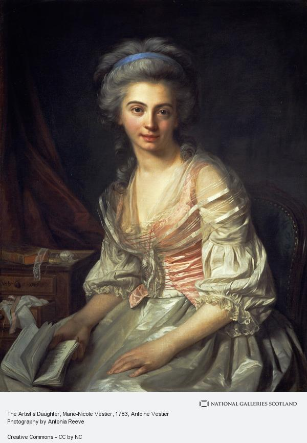 Antoine Vestier, The Artist's Daughter, Marie-Nicole Vestier