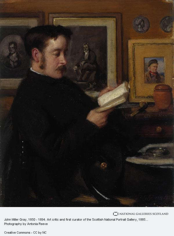 Patrick William Adam, John Miller Gray, 1850 - 1894. Art critic and first curator of the Scottish National Portrait Gallery
