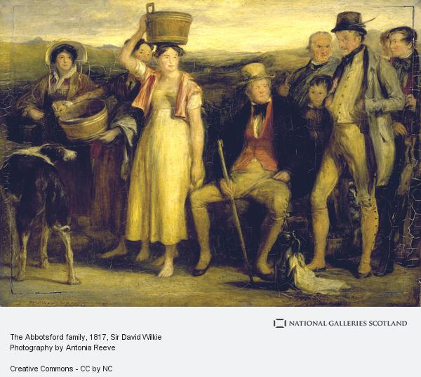 Sir David Wilkie, The Abbotsford family