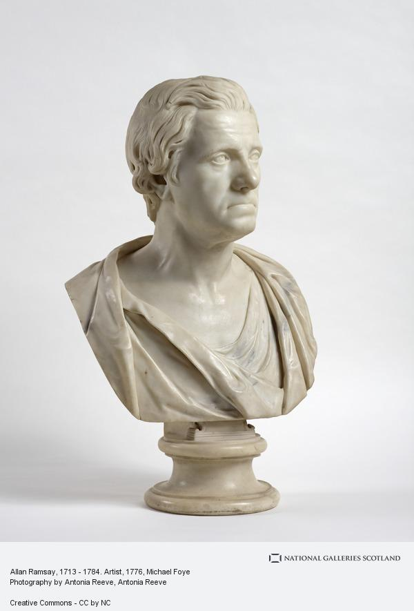 Michael Foye, Allan Ramsay, 1713 - 1784. Artist (Sculpted about 1776 - 1777)