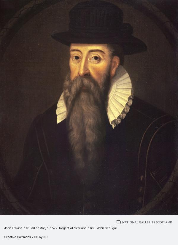 John Scougall, John Erskine, 1st Earl of Mar, d. 1572. Regent of Scotland