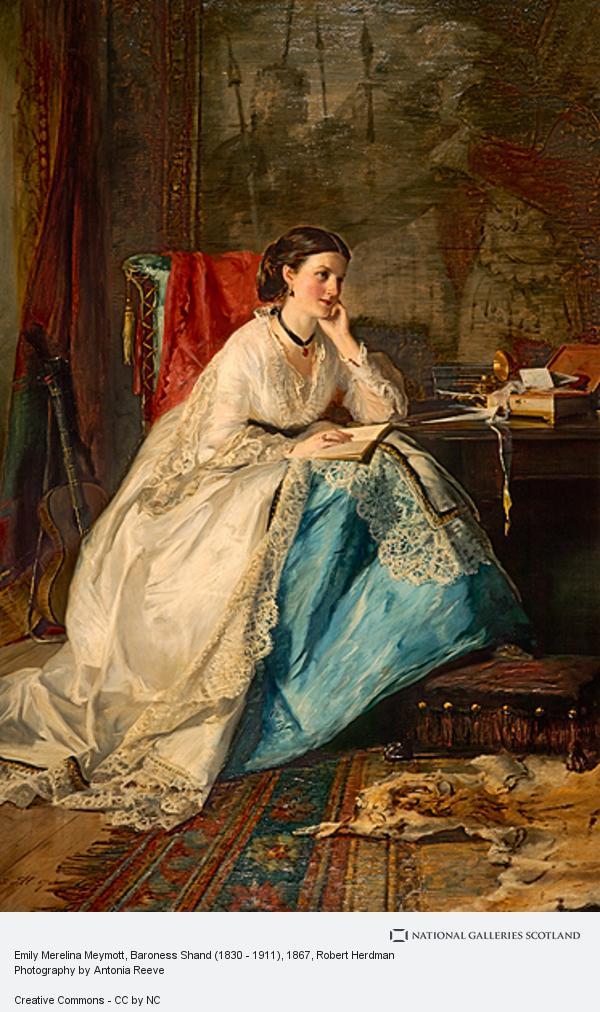Robert Herdman, Emily Merelina Meymott, Baroness Shand (1830 - 1911)
