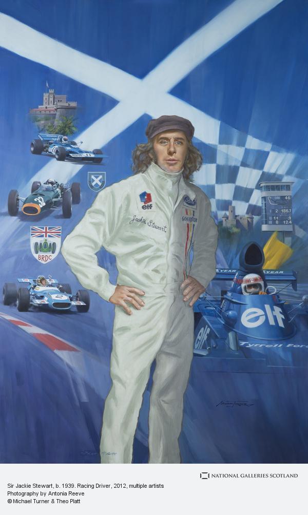 Michael Turner, Sir Jackie Stewart, b. 1939. Racing Driver (2012)
