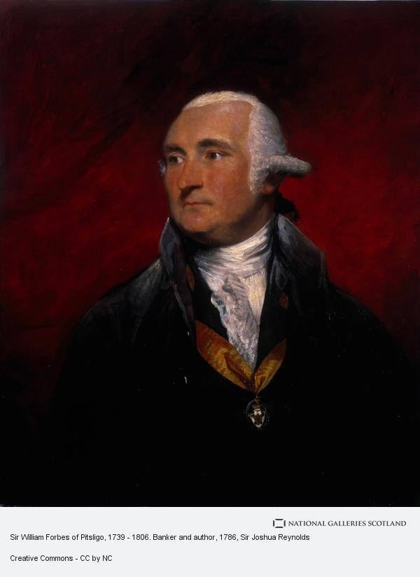 Sir Joshua Reynolds, Sir William Forbes of Pitsligo, 1739 - 1806. Banker and author (1786)