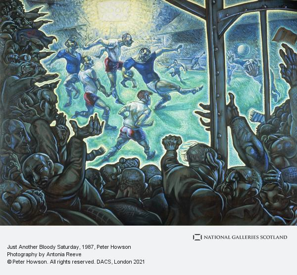 Peter Howson, Just Another Bloody Saturday