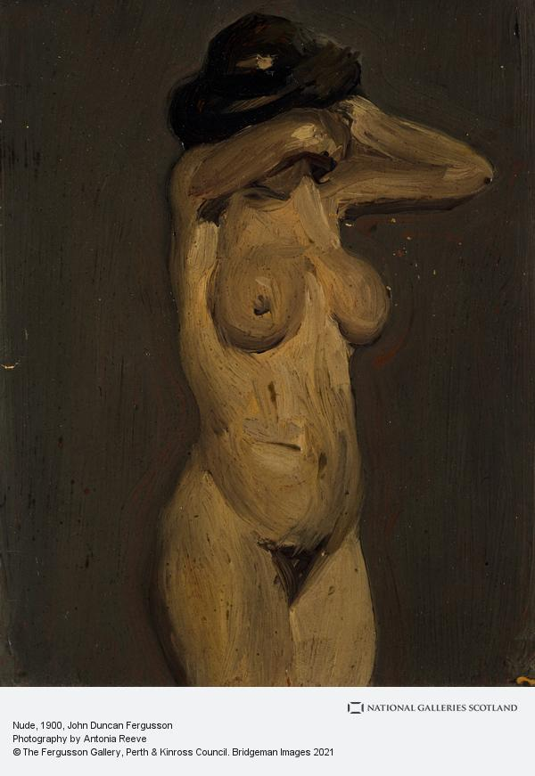 John Duncan Fergusson, Nude