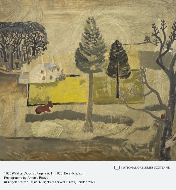 Ben Nicholson, 1928 (Walton Wood cottage, no. 1)