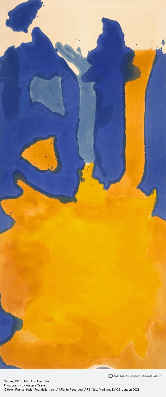 Helen Frankenthaler, Saturn