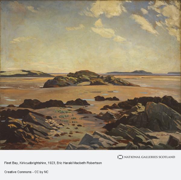 Eric Robertson, Fleet Bay, Kirkcudbrightshire