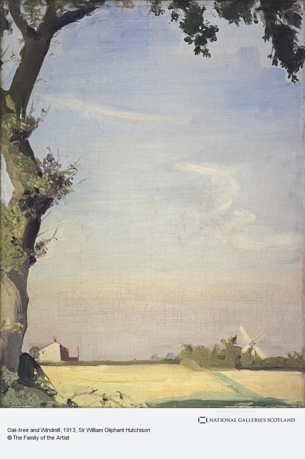 Sir William Oliphant Hutchison, Oak-tree and Windmill