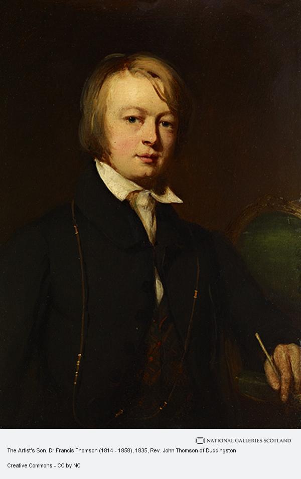 Rev. John Thomson, The Artist's Son, Dr Francis Thomson (1814 - 1858)