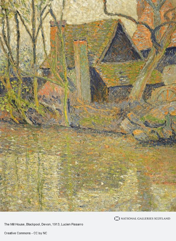 Lucien Pissarro, The Mill House, Blackpool, Devon