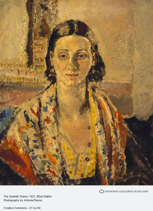 Ethel Walker, The Spanish Shawl