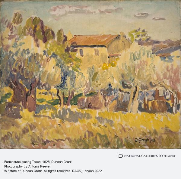Duncan Grant, Farmhouse among Trees