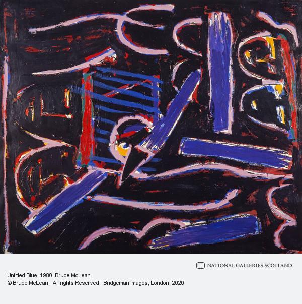 Bruce McLean, Untitled Blue