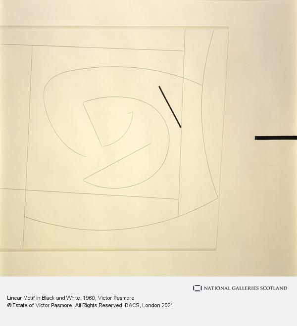 Victor Pasmore, Linear Motif in Black and White