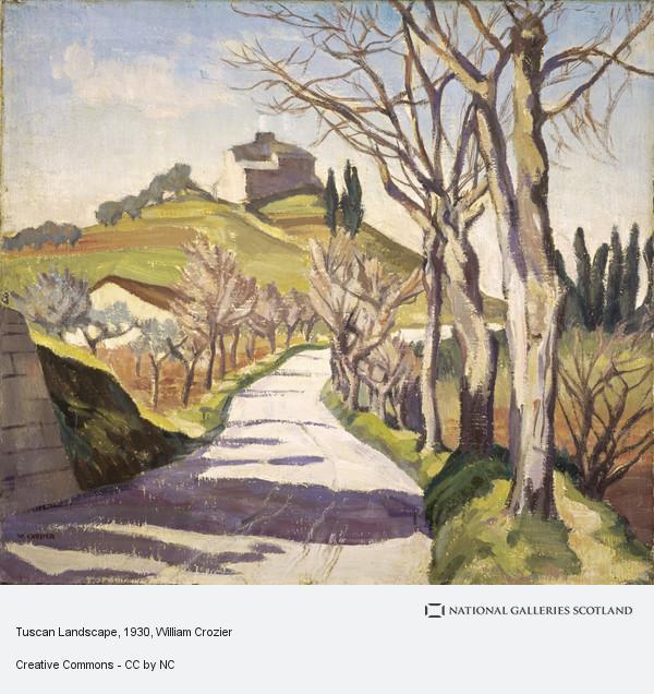 William Crozier, Tuscan Landscape