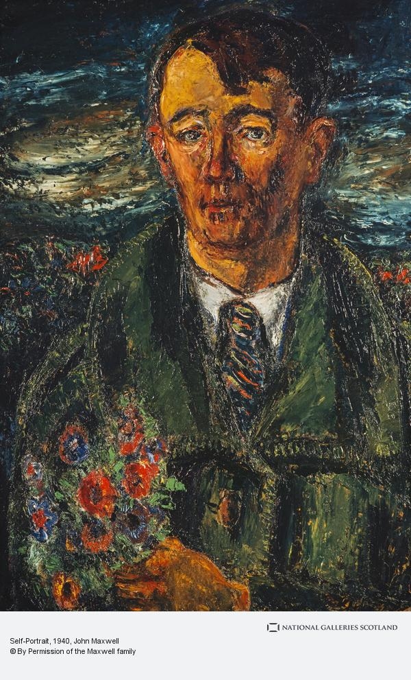 John Maxwell, Self-Portrait