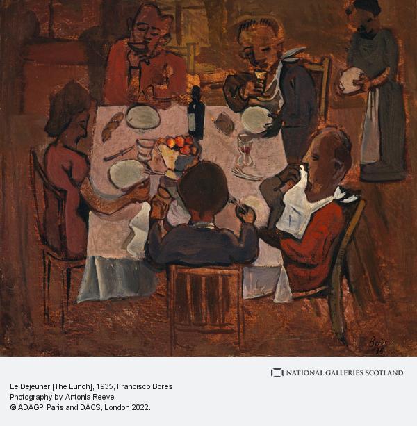 Francisco Bores, Le Dejeuner [The Lunch]