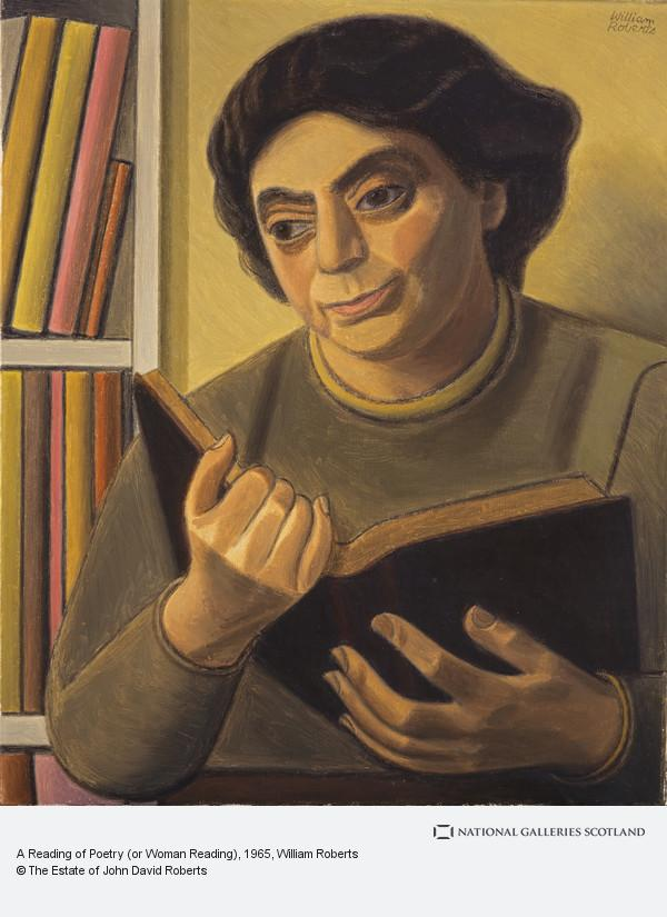 William Roberts, A Reading of Poetry (or Woman Reading)