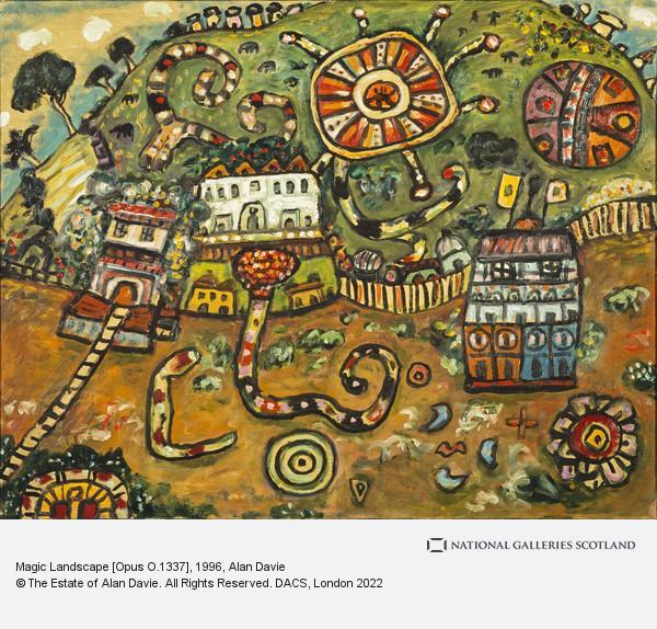Alan Davie, Magic Landscape [Opus O.1337]
